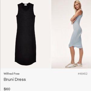 Wilfred Bruni Body Con Tank Dress Black Size S